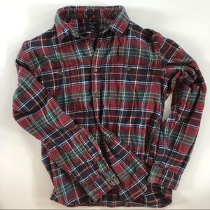 J. Crew Flannel NYC Shirt Slim Fit 100% Cotton
